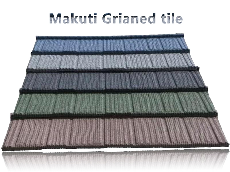 Makuti Grianed stone coated metal roo
